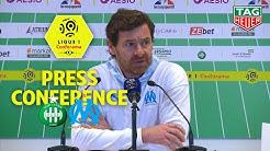 Press Conference AS Saint-Etienne - Olympique de Marseille (0-2) / 2019-20
