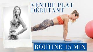 Séance d'abdos, ventre plat !!! (débutant) Pilates