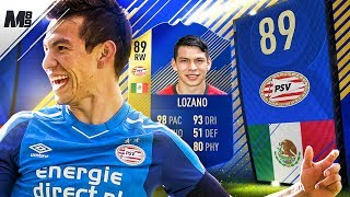FIFA 18 TOTS LOZANO REVIEW | 89 TOTS LOZANO PLAYER REVIEW | FIFA 18 ULTIMATE TEAM