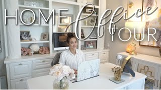 HOME OFFICE TOUR || Renovations & DIY Office Tour || 2019