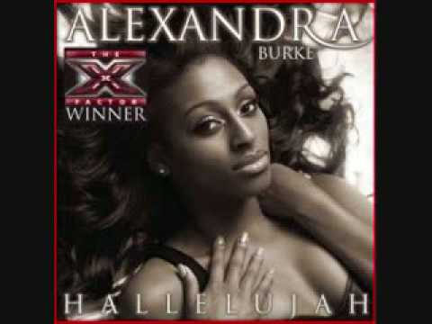 Hallelujah alexandra burke single