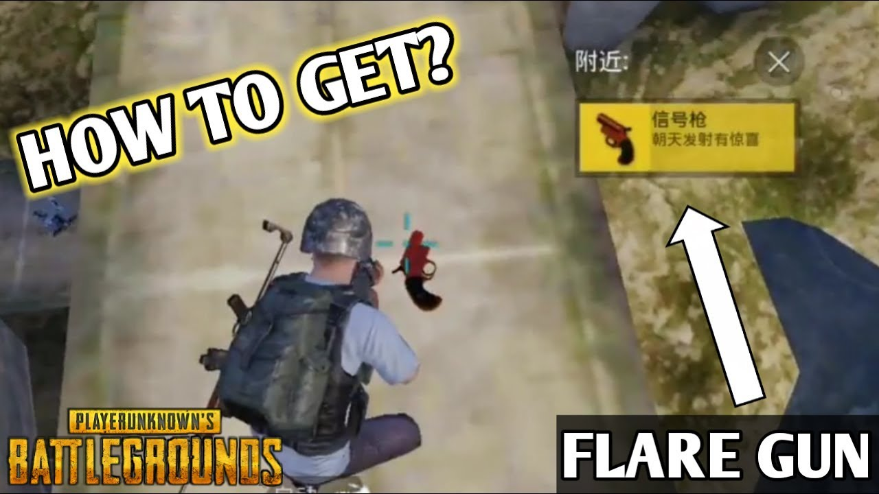 How To Get A Flare Gun In Pubg Mobile Use It Like Pro Mobil Must Watch