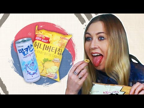 Irish People Try South Korean Snacks