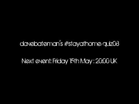 davebateman's #stayathome quiz08