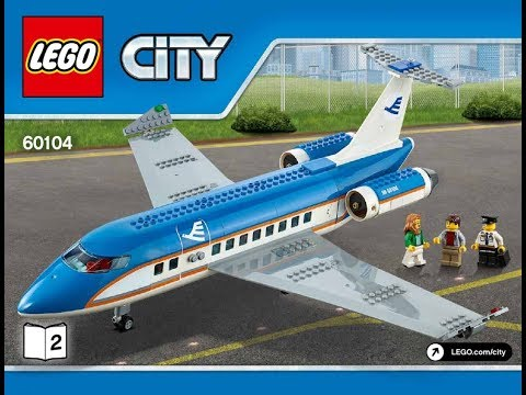 Lego City Airport 60104 Airport Passenger Terminal Instructions Diy