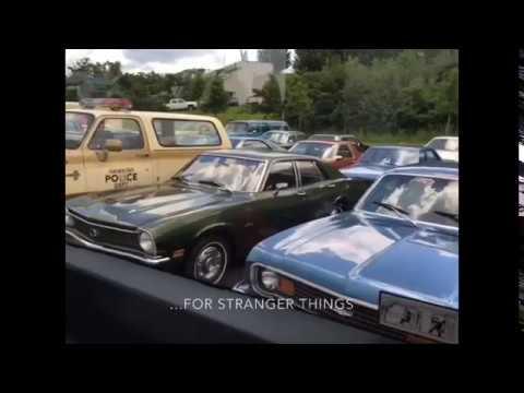 Hoppers Truck from Stranger Things (Parking Lot Full of Stranger Things  Cars)
