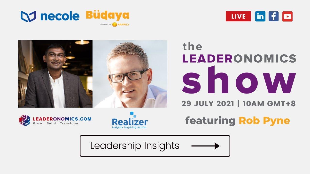 Interview on Leaderonomics Live-stream