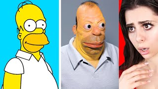 Cartoon Characters in REAL LIFE !