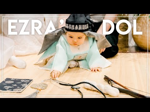EZRA'S DOL (Korean 1st Birthday) || Jen Chae thumbnail