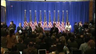 Пресс-конференция избранного президента США Дональда Трампа