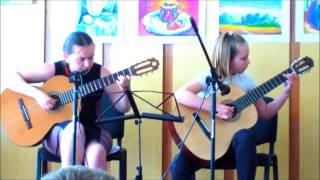 Отчетный концерт Полины 31.05.2014 (первый год обучения, Васильковская школа искусств)