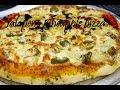 Jalapeno pineapple pizza with herb garlic butter by crazy4veggie.com
