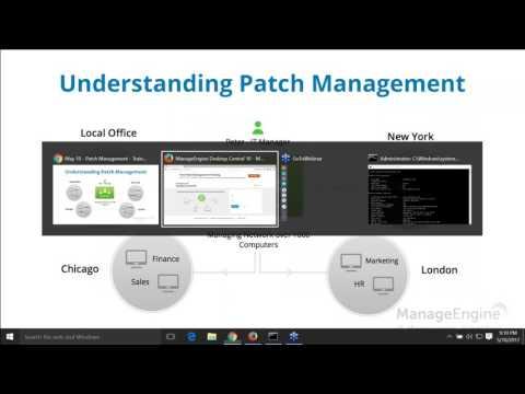 ManageEngine Desktop Central - Free Patch Management Training