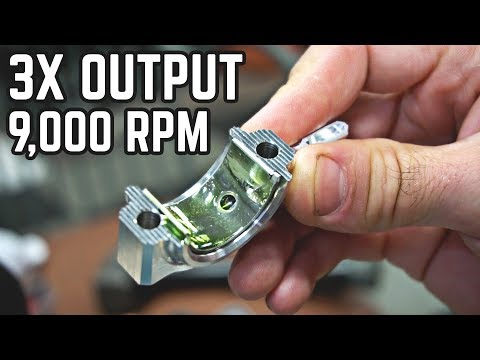 20HP, 9,000 RPM Engine Build! 88MPH Kart Pt. 3