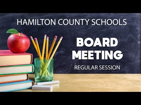 HCDE Board Meeting 3/22/18