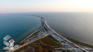 видео строительство моста через керченский