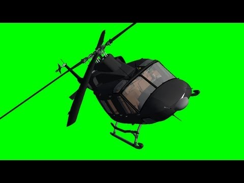 Helicopter Bell Fly
