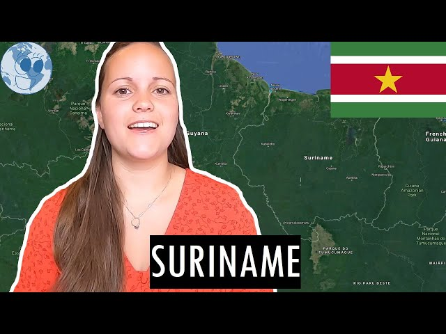 Zooming in on SURINAME | Geography of Suriname with Google Earth