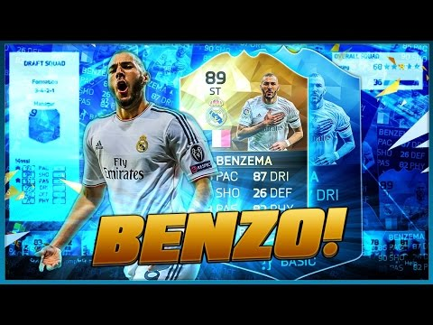 OMG TIF KARIM BENZEMA: LA LIGA DREAM TEAM! FIFA 16 ULTIMATE TEAM