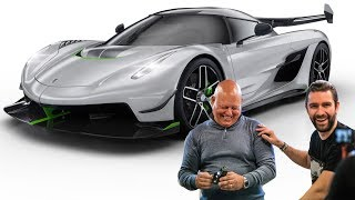 NEW Koenigsegg JESKO Hypercar! FIRST LOOK With Christian Von Koenigsegg