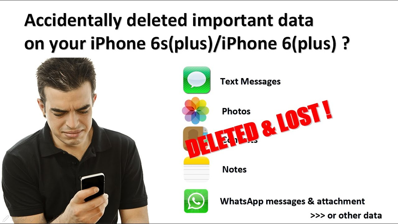 How to recover deleted text messages, photos, contacts ...