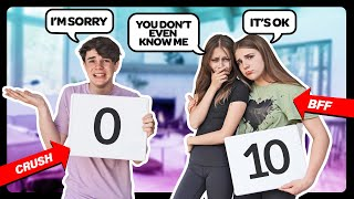 WHO KNOWS ME BETTER CHALLENGE!? **My Crush VS My Best Friend** ❤️💔 | Sophie Fergi