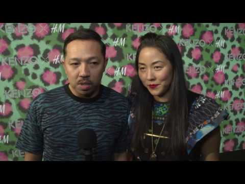 THE KENZO X H&M NEW COLLECTION | Humberto Leon and Carol Lim - Kenzo Designers  Interview