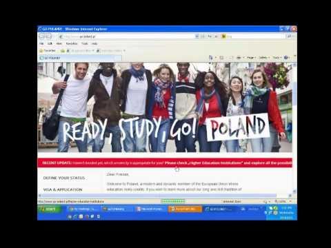 Study in Poland - Student Visa Process