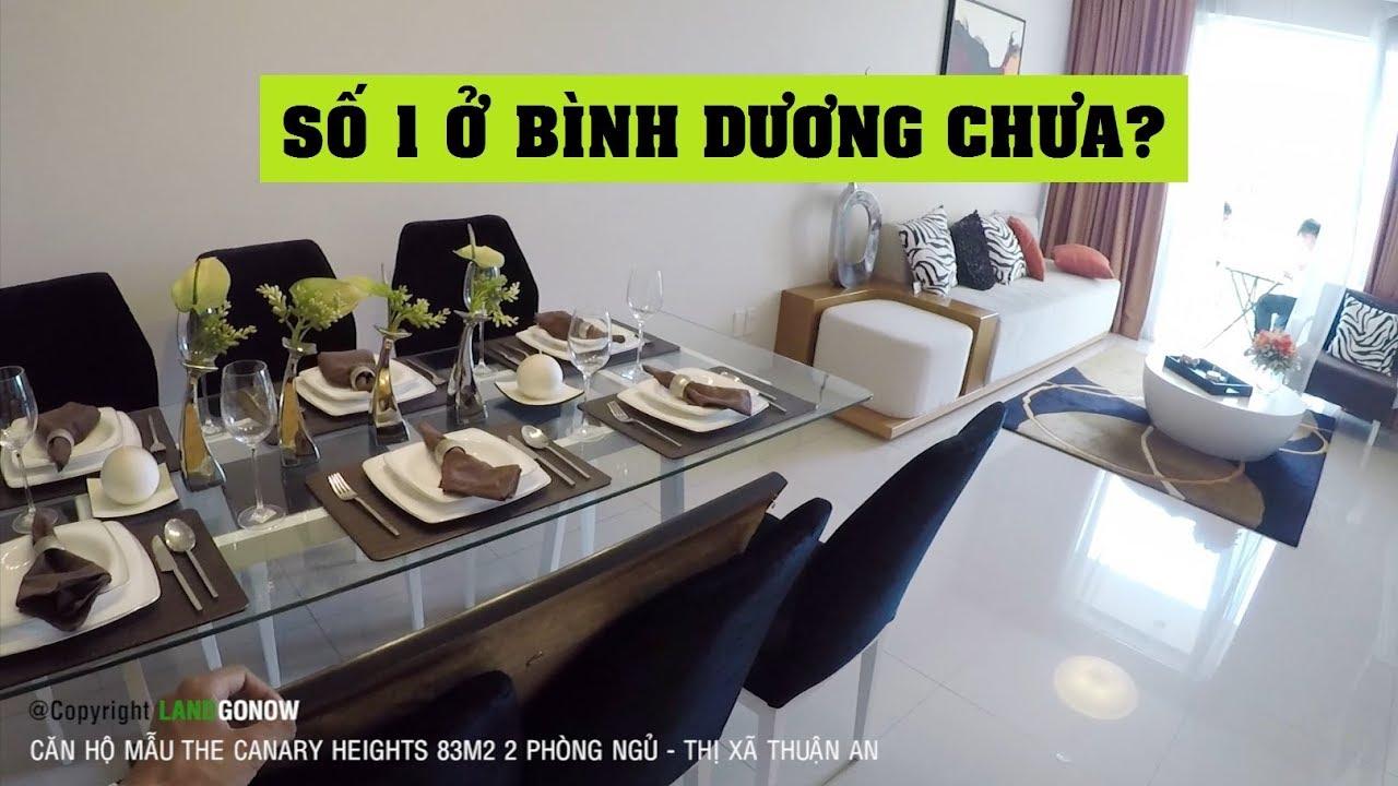 Căn hộ mẫu The Canary Heights 83m2 2 phòng ngủ, Bình Dương – Land Go Now ✔