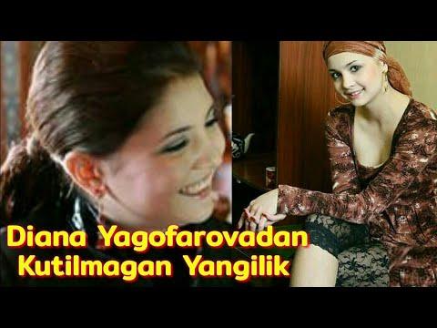 Diana Yagofarovadan kutilmagan yangilik