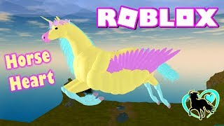 ROBLOX HORSE WORLD 💛 MY HORSE CAN FLY, DON'T ASK ME WHY! WITH FUNNY MOMENTS & SEA CREATURES Ep. 3