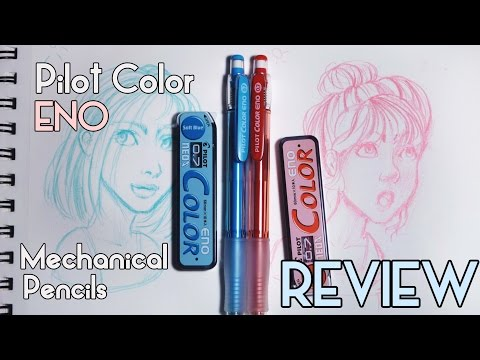 Pilot Color Eno Pencils Review & Sketching thumbnail