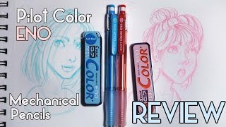 Pilot Color Eno Pencils Review & Sketching