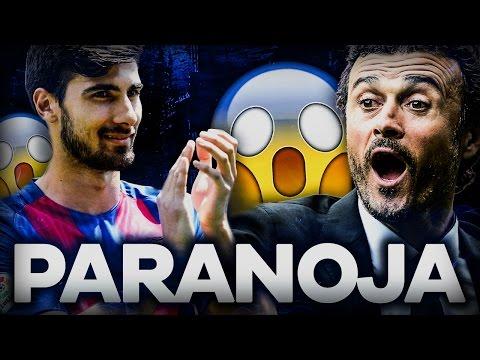Gomes, Enrique. FC Barcelona - jedna wielka PARANOJA!