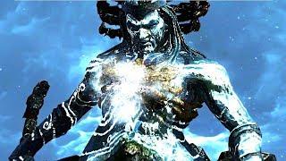 GOD OF WAR 3 - KRATOS VS POSEIDON - SEM LEVAR 1 HIT NO VERY HARD