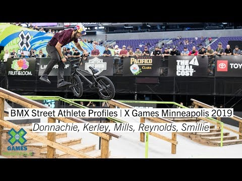 BMX Street Athlete Profiles | X Games Minneapolis 2019