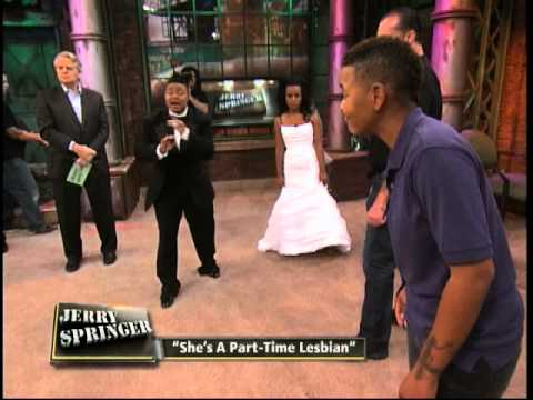 She's A PartTime Lesbian The Jerry Springer