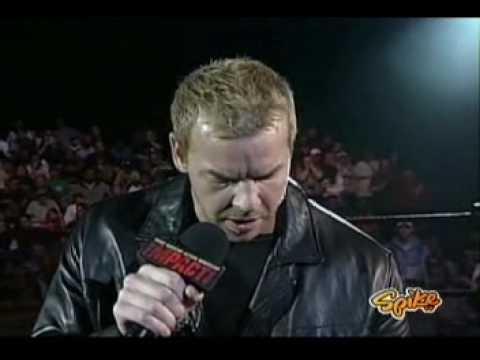 Christian Cage promo After winning The Heavyweight Title