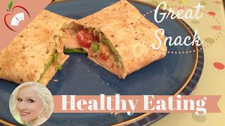 Salmon Cream Cheese Tomato Spring Onion Wrap Recipe