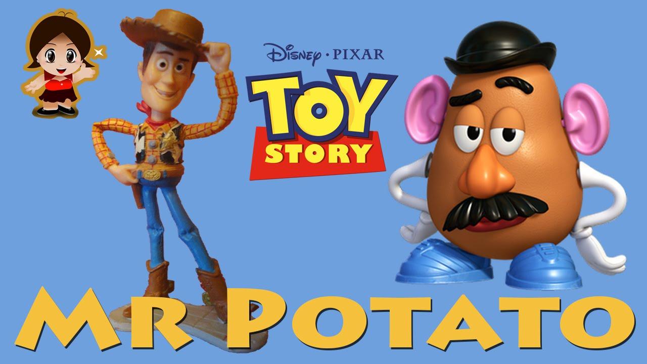 Juguetes de Toy Story Mr Potato en español con Woody f69ecdb19ee