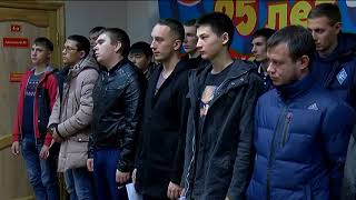 Первая партия призывников сегодня покинула родной Уссурийск