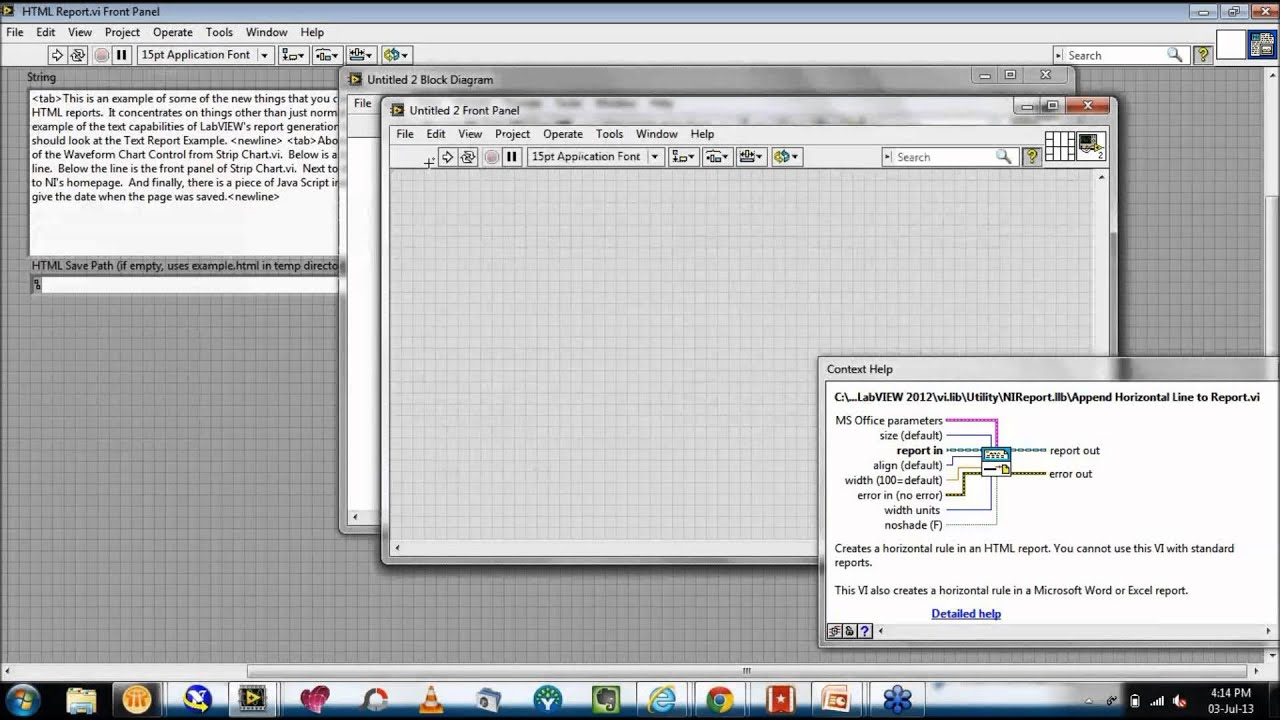 Webcast Wednesday # 9 | Report Generation Toolkit for Microsoft Office in  LabVIEW