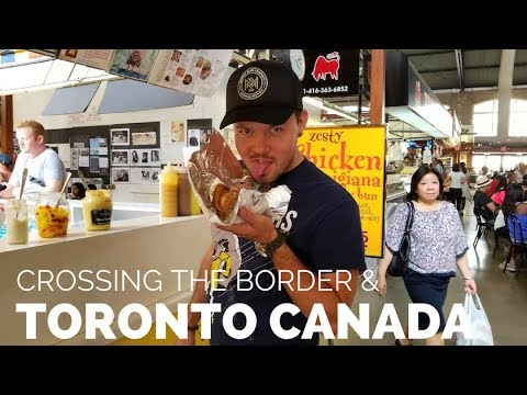 Crossing Canadian Border In An RV // Camping In Toronto, Canada // RV Life