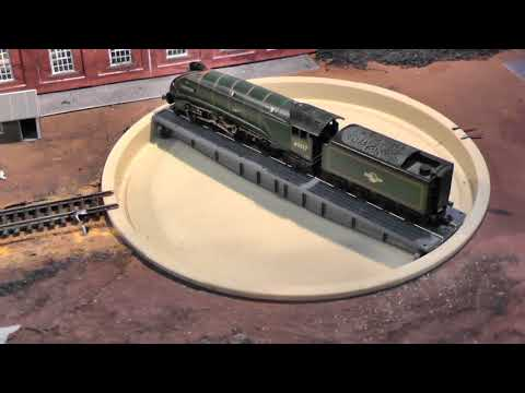 Mikes N gauge Model Railway Part 5 Fitting Locomotech Motorizing  Kit to a Peco Turntable