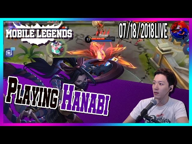 Hanabi damage is insane Mobile Legends North America Marksman Player