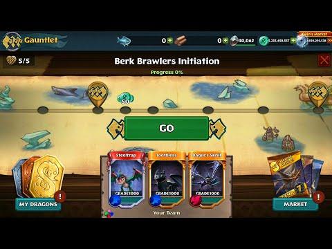 Gauntlet Event:Berk Brawlers Initiation//Dragons:Rise of Berk