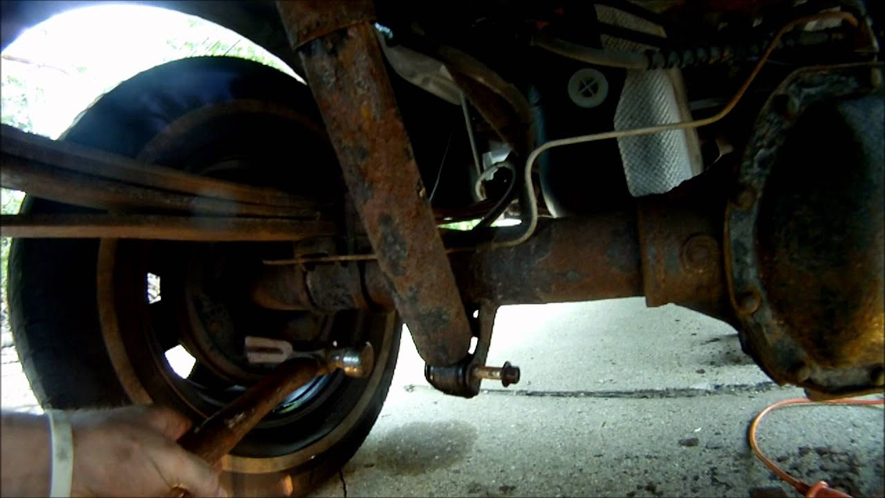 Ford Ranger Rear Shock Replacement