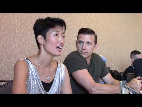 SDCC 2018: National Geographic MARS - JiHae (Hana/Joon) and Jeff Hephner (Kurt)