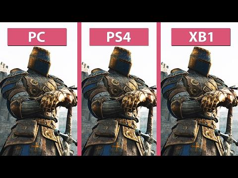 For Honor – PC vs  PS4 vs  Xbox One Graphics Comparison - YouTube