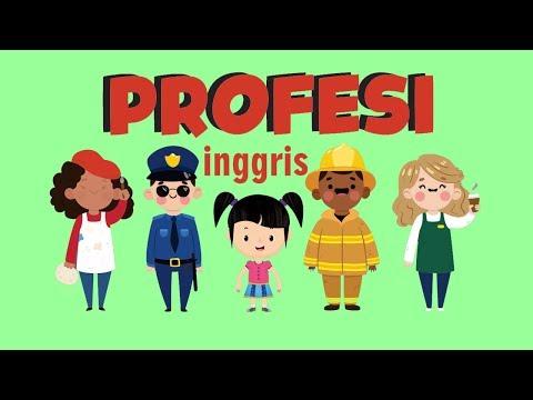 Belajar Membaca Nama Nama Profesi Dalam Bahasa Inggris Bagian 2 Bunbun Learning Profession Youtube